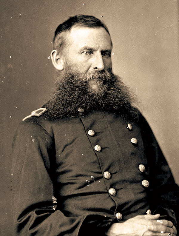 Crook, pictured as a brigadier general. Library of Congress.