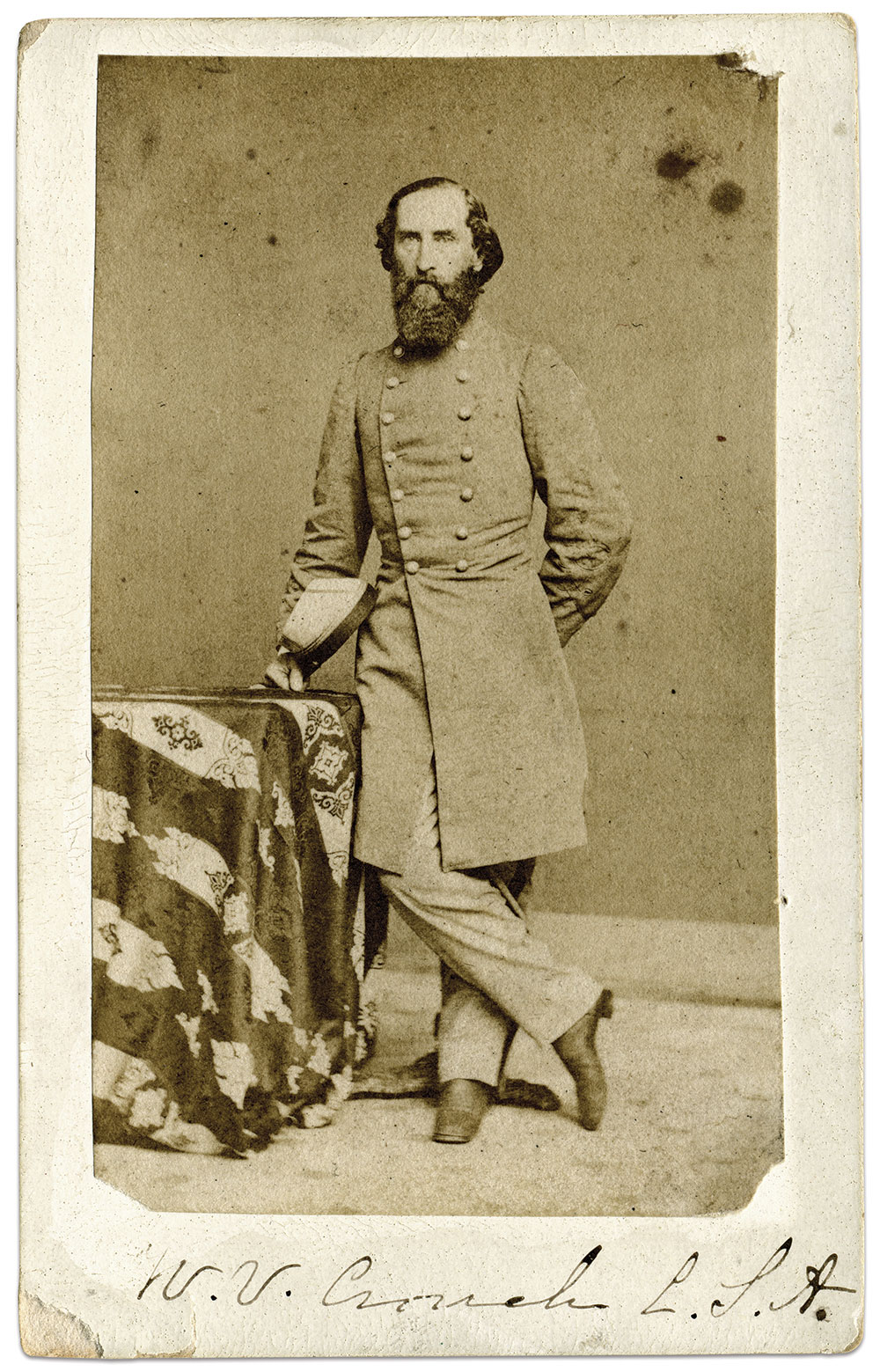 Carte de visite by an anonymous photographer. The late William A. Turner Collection.