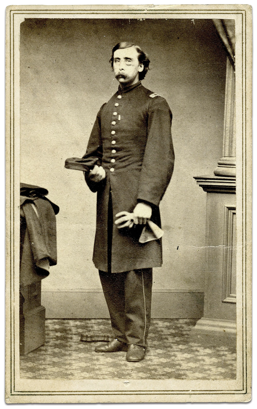 Carte de visite by Cushing of Woodstock, Vt. Francis Guber Collection.