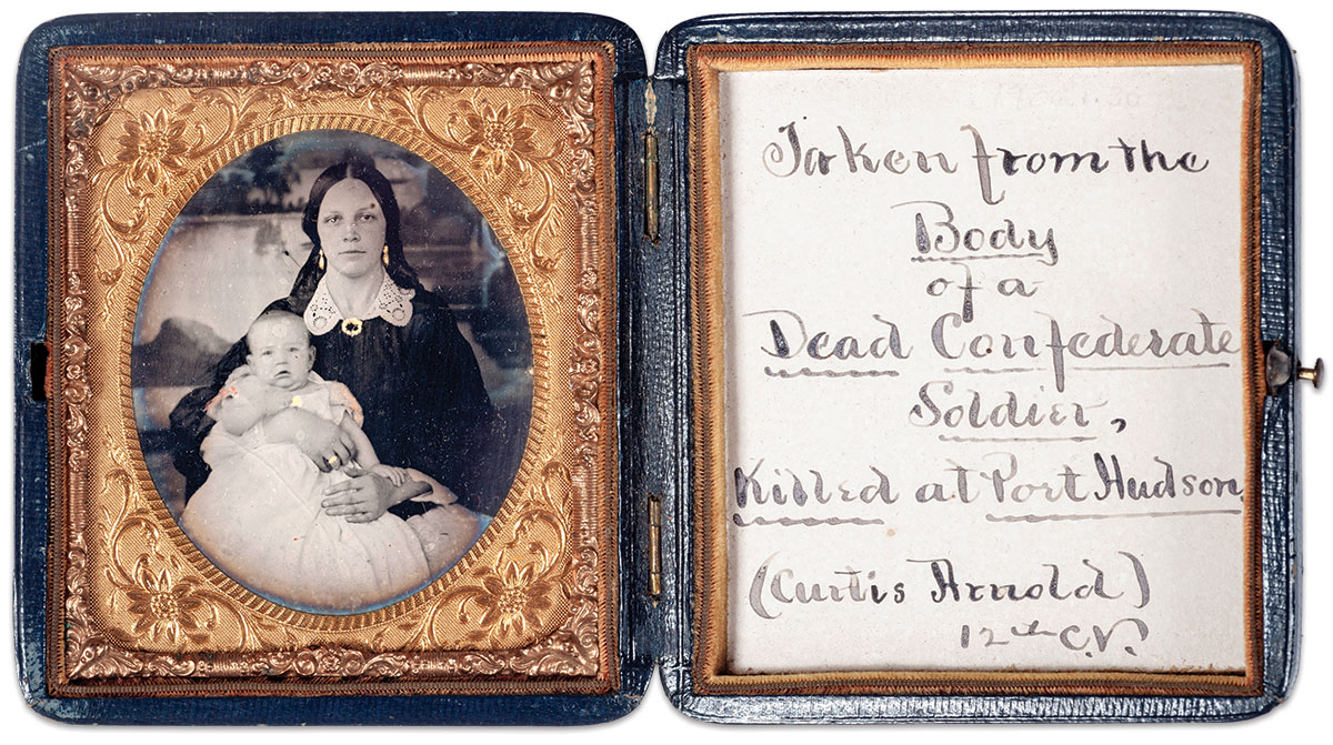 Sixth-plate ambrotype by an anonymous photographer. Courtesy of the Middlesex County Historical Society.
