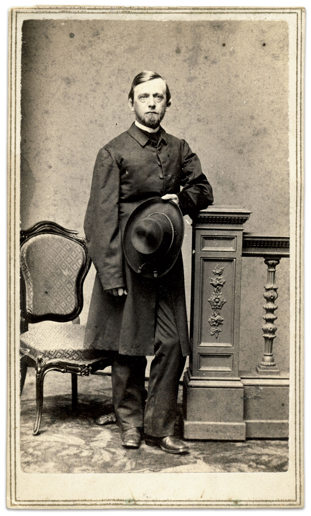 Carte de visite by Charles D. Fredricks & Co. of New York City. Rick Carlile Collection.