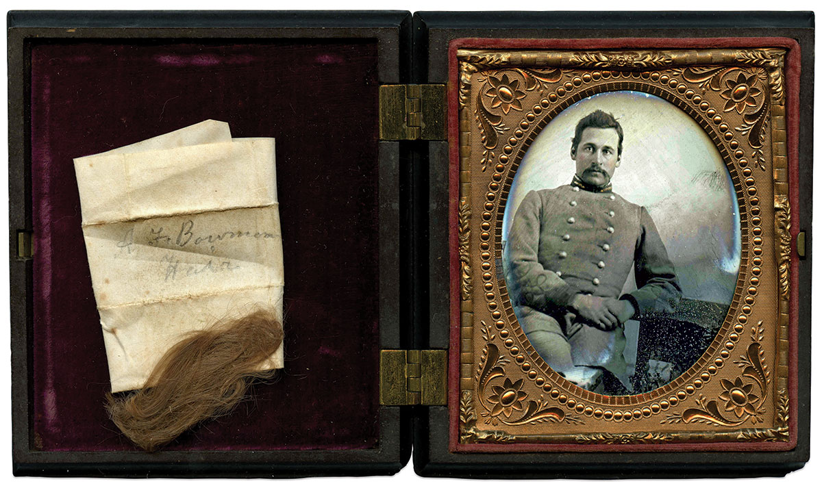 Sixth-plate ambrotype by an anonymous photographer. Guy DeMasi Collection.