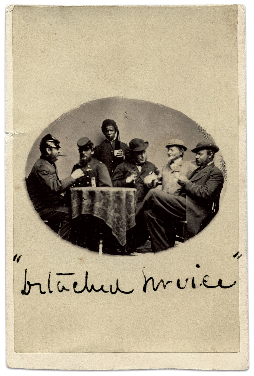 Carte de visite by Patterson and Radbruch of Milwaukee, Wis. Doug York Collection.