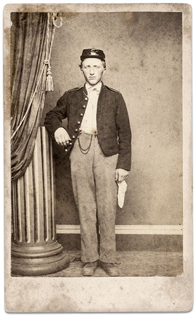 Carte de visite by Bell & Brother of Washington, D.C. Author's collection.