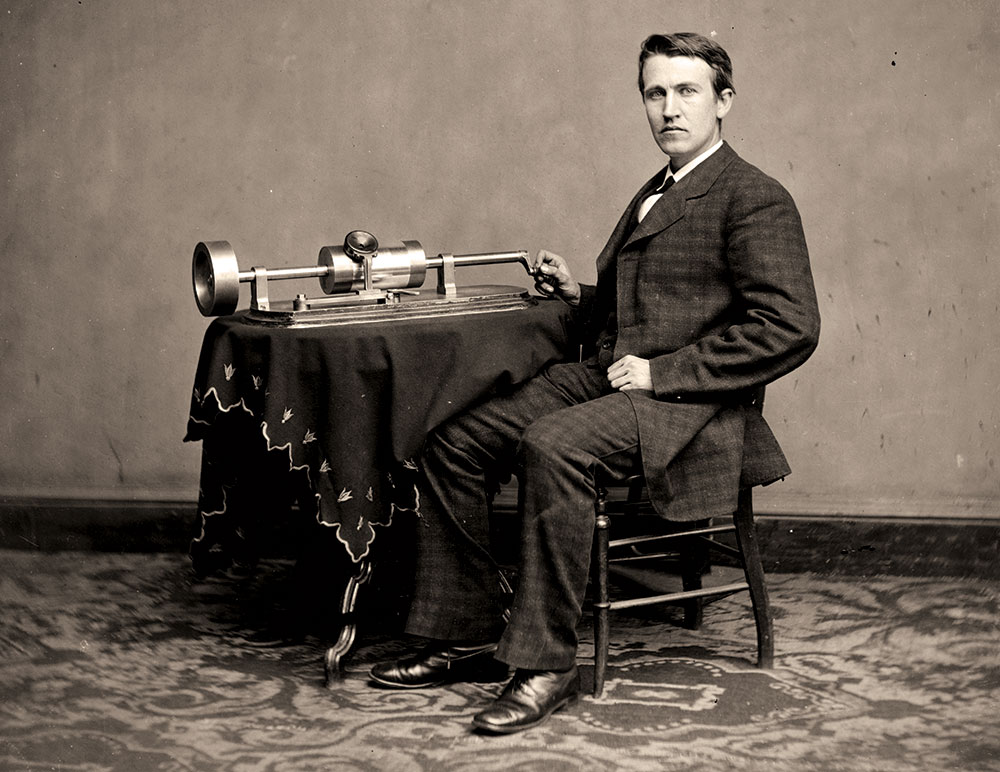 """EDISON ON ELLSWORTH: """"Edison says that while apparently a quiet man in bearing, Ellsworth, after the excitement of fighting, found the tameness of a telegraph office obnoxious."""" —Thomas A. Edison to Frank L. Dyer."""
