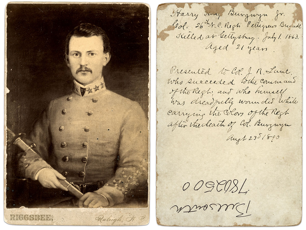 Cabinet card by William H. Riggsbee of Raleigh, N.C. Robert Elliott Collection.