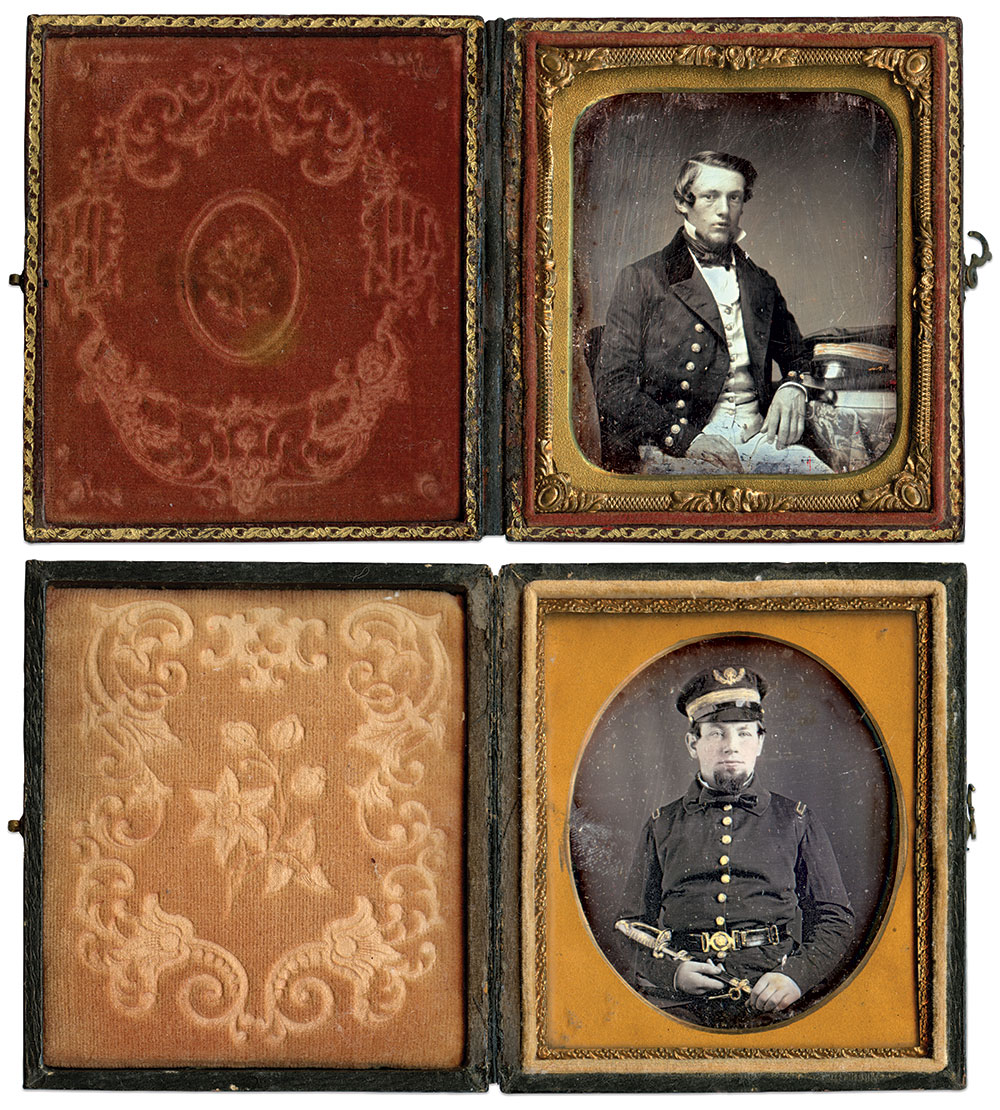 Sixth-plate daguerreotype by an anonymous photographer; Sixth-plate daguerreotype by an anonymous photographer.
