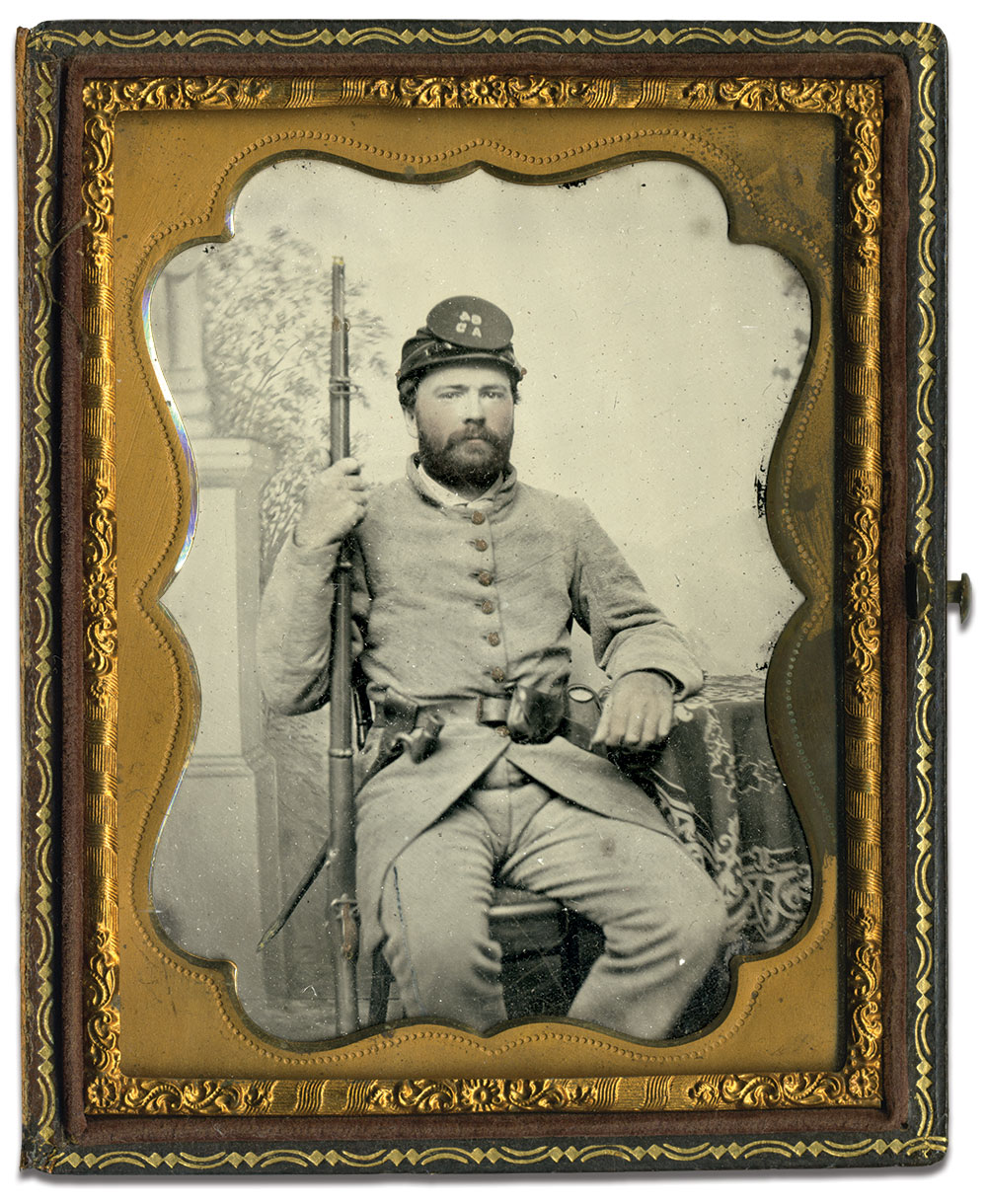 Quarter-plate ambrotype by George S. Cook of Charleston, S.C. Richard Ferry collection.
