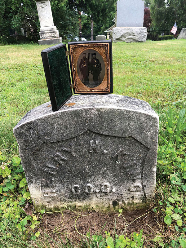 Henry's gravesite at Wardan Cemetery in Dallas, Luzerne County, Pa. Michael Passero.