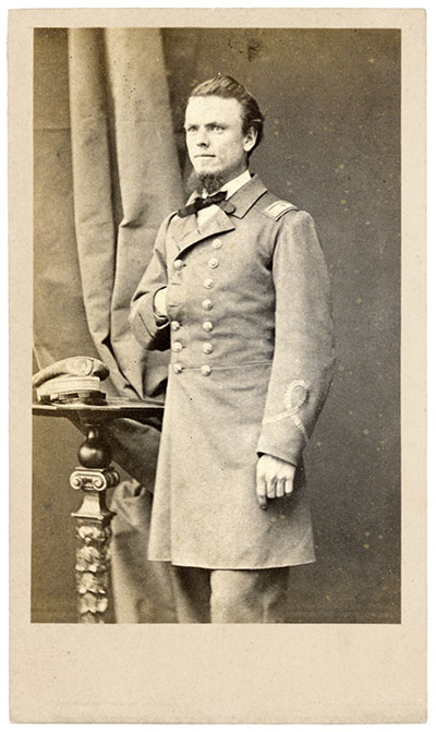 John Grimball, C.S. Navy, pictured circa 1864. Carte de visite by Penabert & Cie of Paris, France. Liljenquist Family Collection, Library of Congress.