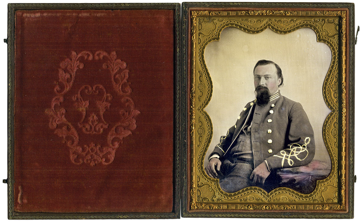 Half-plate ambrotype by an anonymous photographer. The Liljenquist Family Collection at the Library of Congress.
