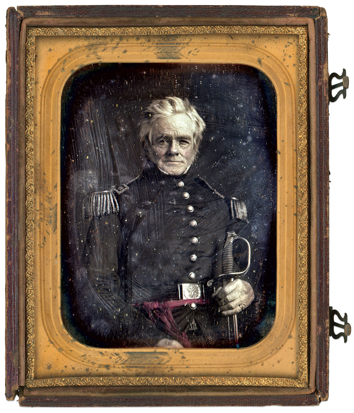 Half-plate daguerreotype by an anonymous photographer. Rich Jahn Collection.