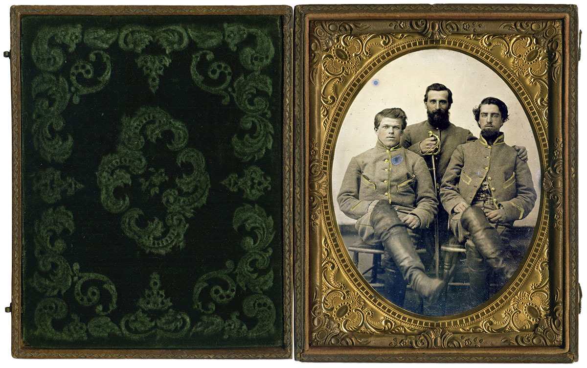 Half-plate tintype by an anonymous photographer. The Liljenquist Family Collection at the Library of Congress.