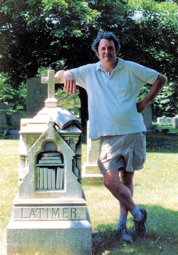 Henry Deeks at Mount Auburn Cemetery, Cambridge, Mass., June 3, 1991. Courtesy Roger Hunt.