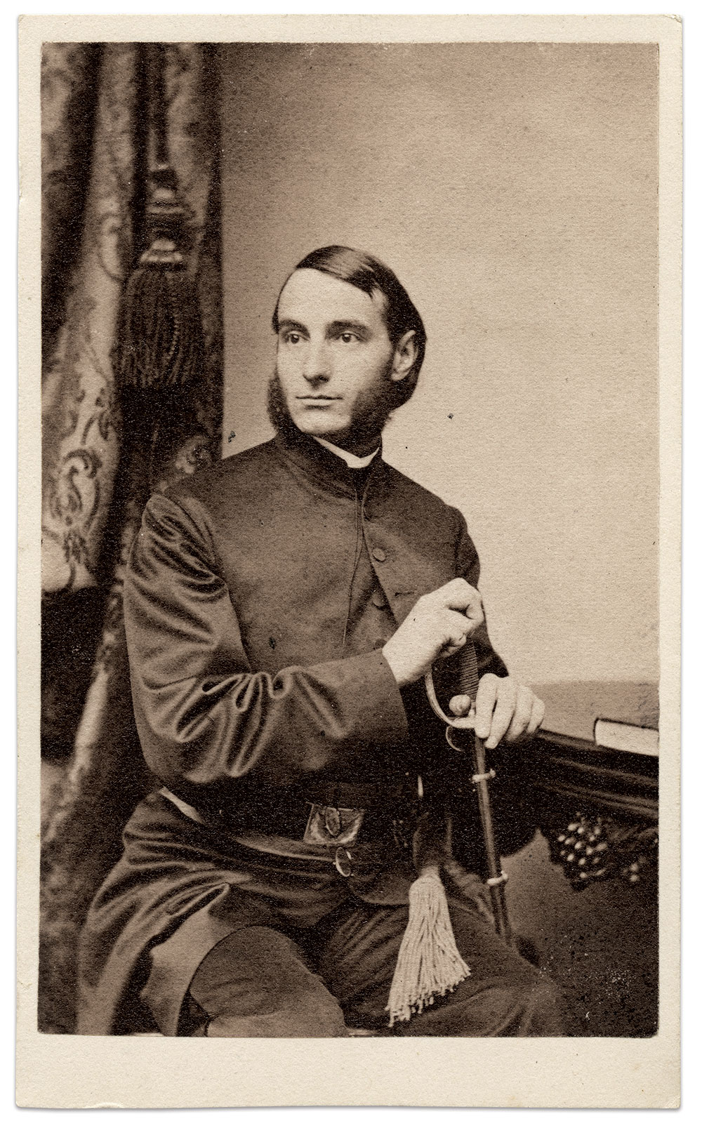 Carte de visite by F.L. Lay of Boston, Mass. Paul Russinoff Collection.