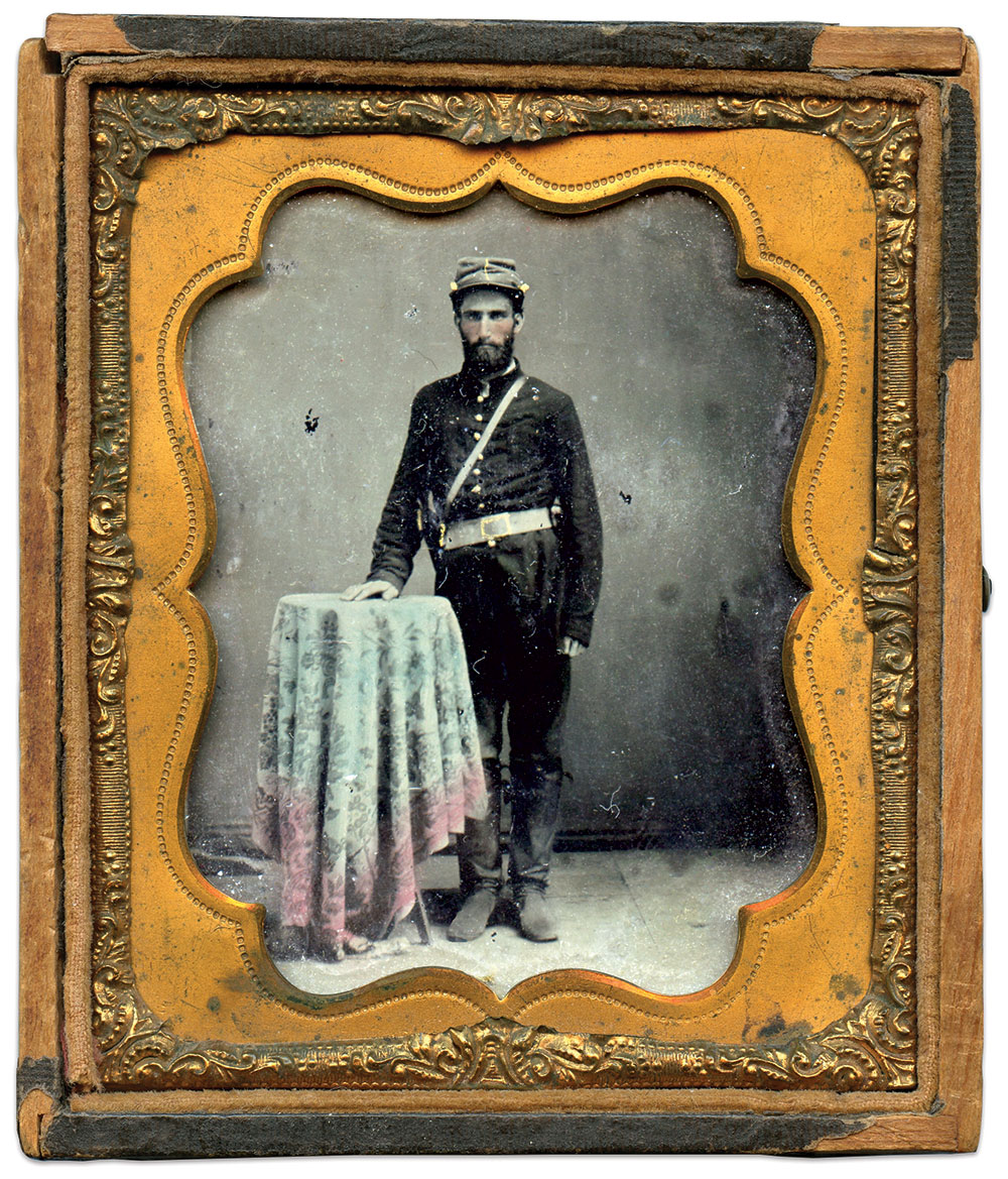 Sixth-plate tintype by an anonymous photographer. Daniel Taylor Collection.
