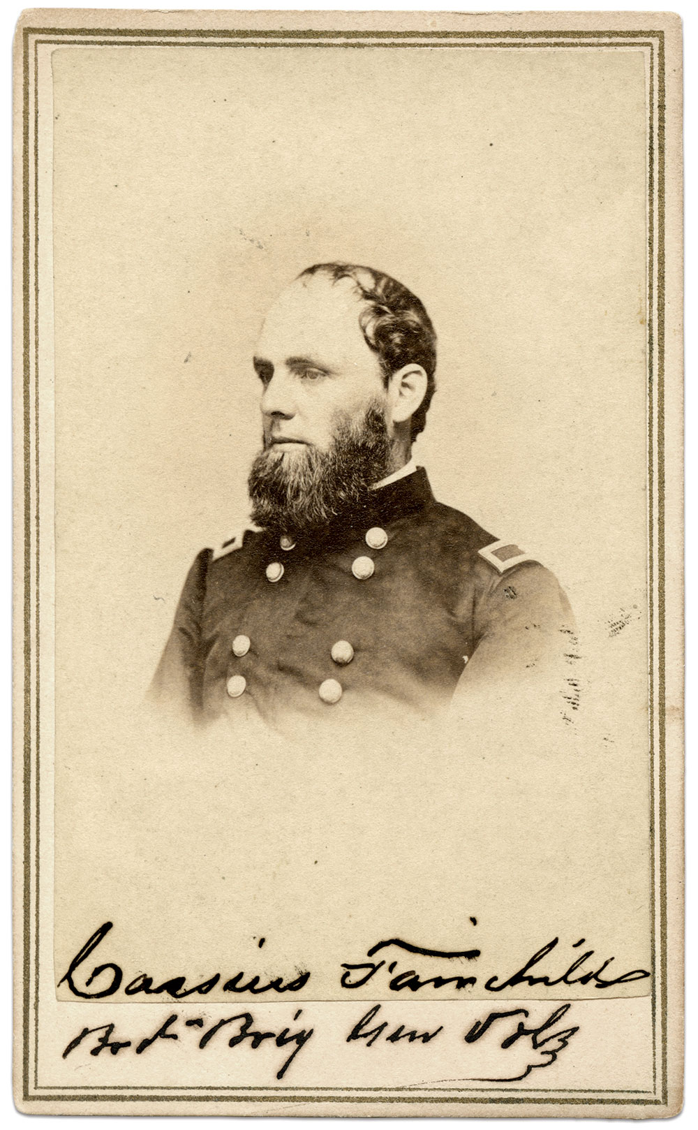 Carte de visite by H.N. Roberts of Madison, Wis. Jim Rivest Collection.