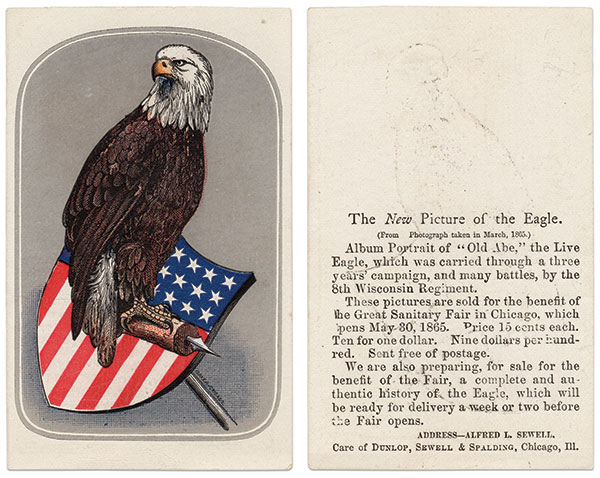 """THE SECOND ISSUE (40,000) is also known as the """"New Picture of the Eagle."""""""