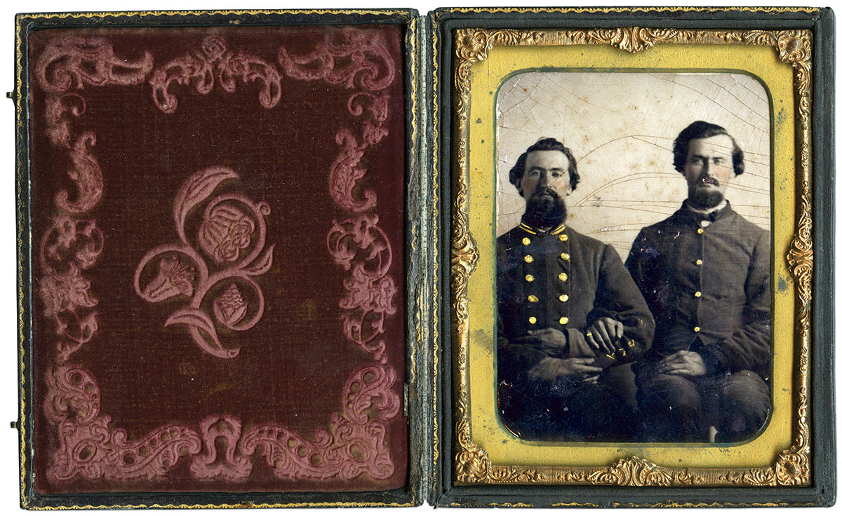 Half-plate tintype by an anonymous photographer. Daniel Taylor Collection.
