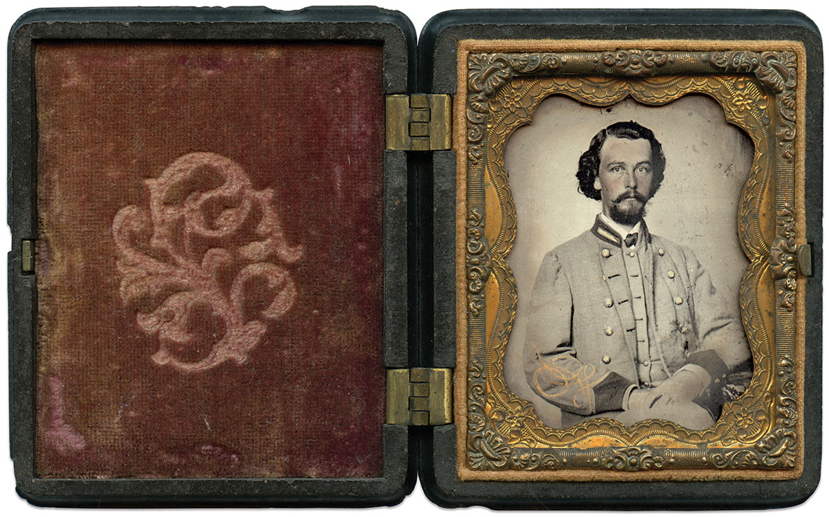 Ninth-plate tintype by an anonymous photographer. Daniel Taylor Collection.
