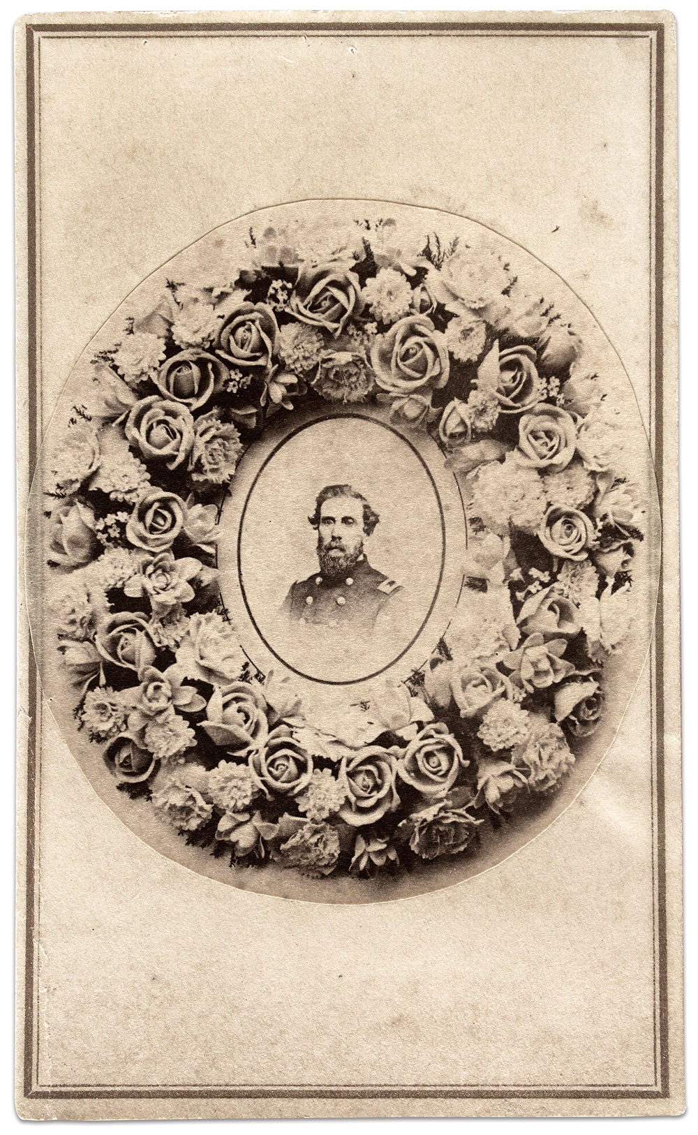 Carte de visite by A.W. Paradise of New York City. Buck Zaidel Collection.