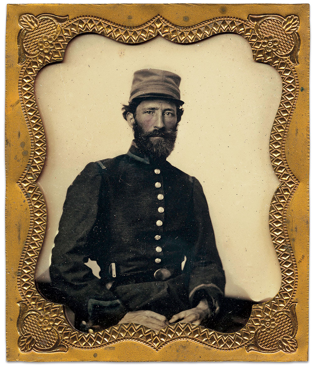 Sixth-plate ambrotype by an anonymous photographer. William J. Stier Collection.