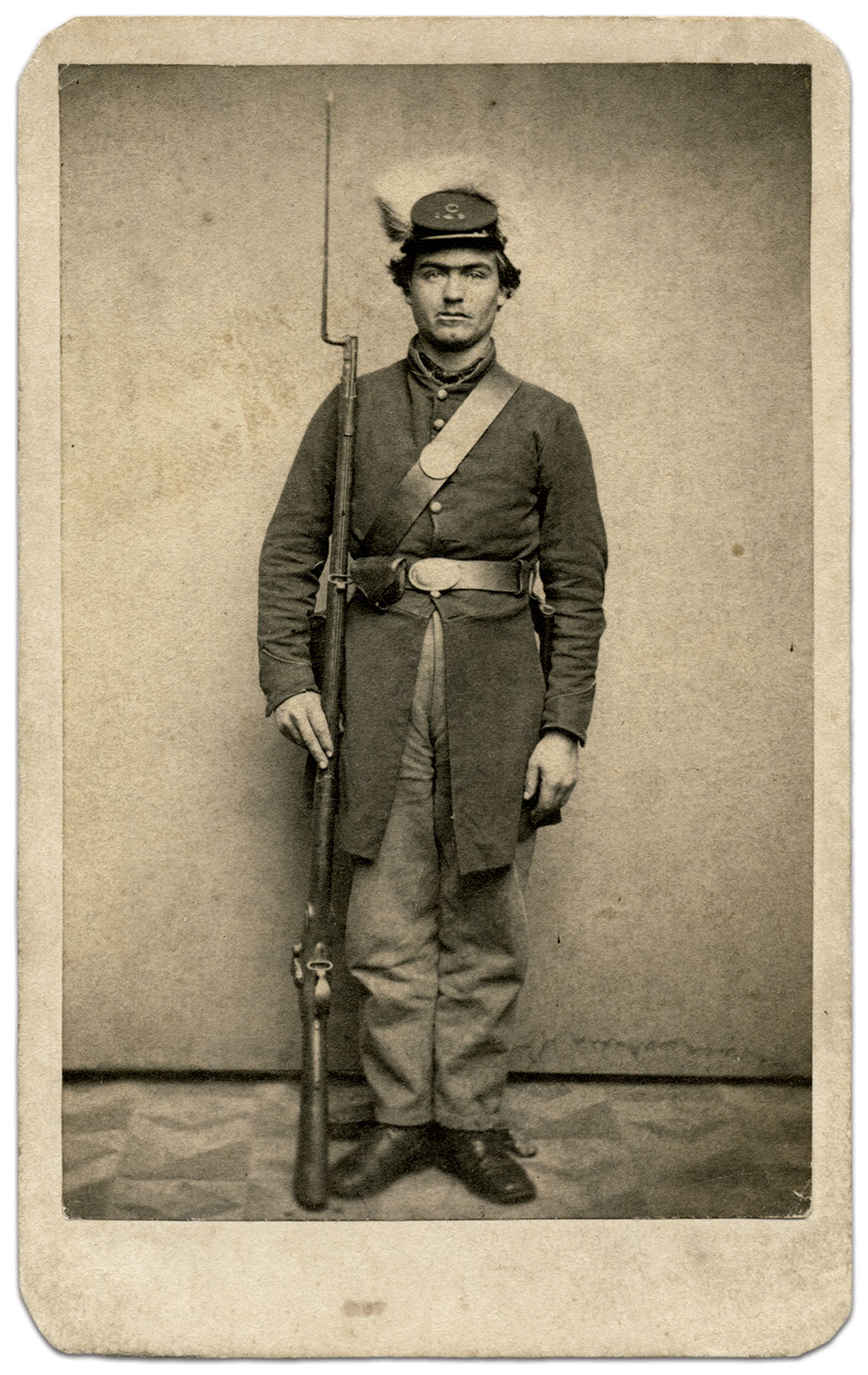 Carte de visite by Bell & Brother of Washington, D.C. Rick Carlile Collection.