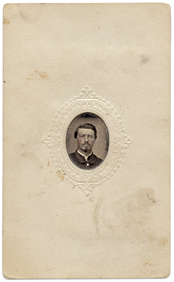 Gem tintype from the Marc and Beth Storch Collection.