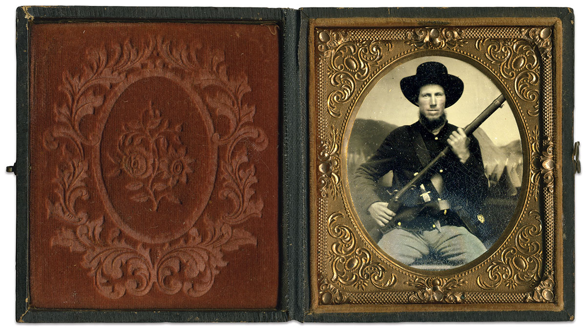 Sixth-plate tintype by the Star Gallery of Indianapolis, Ind. Rich Jahn Collection.