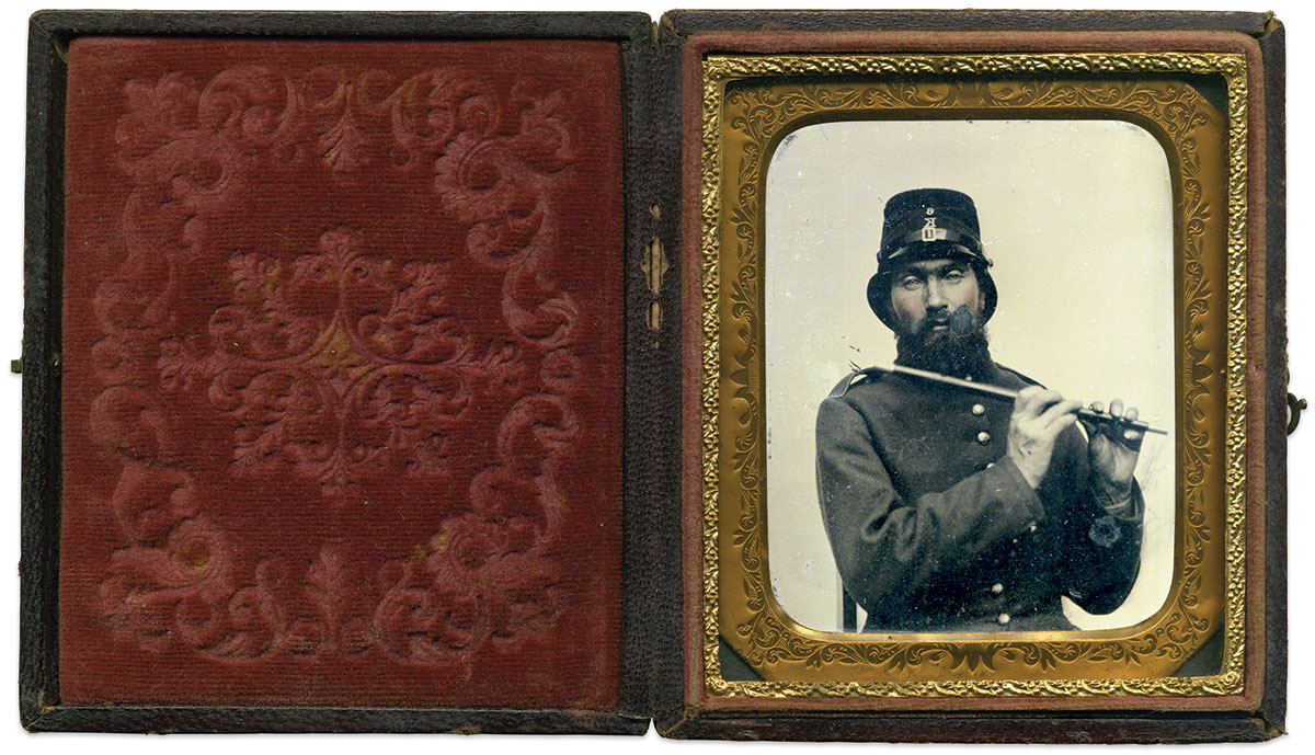 Sixth-plate tintype by an anonymous photographer. Rich Jahn Collection.