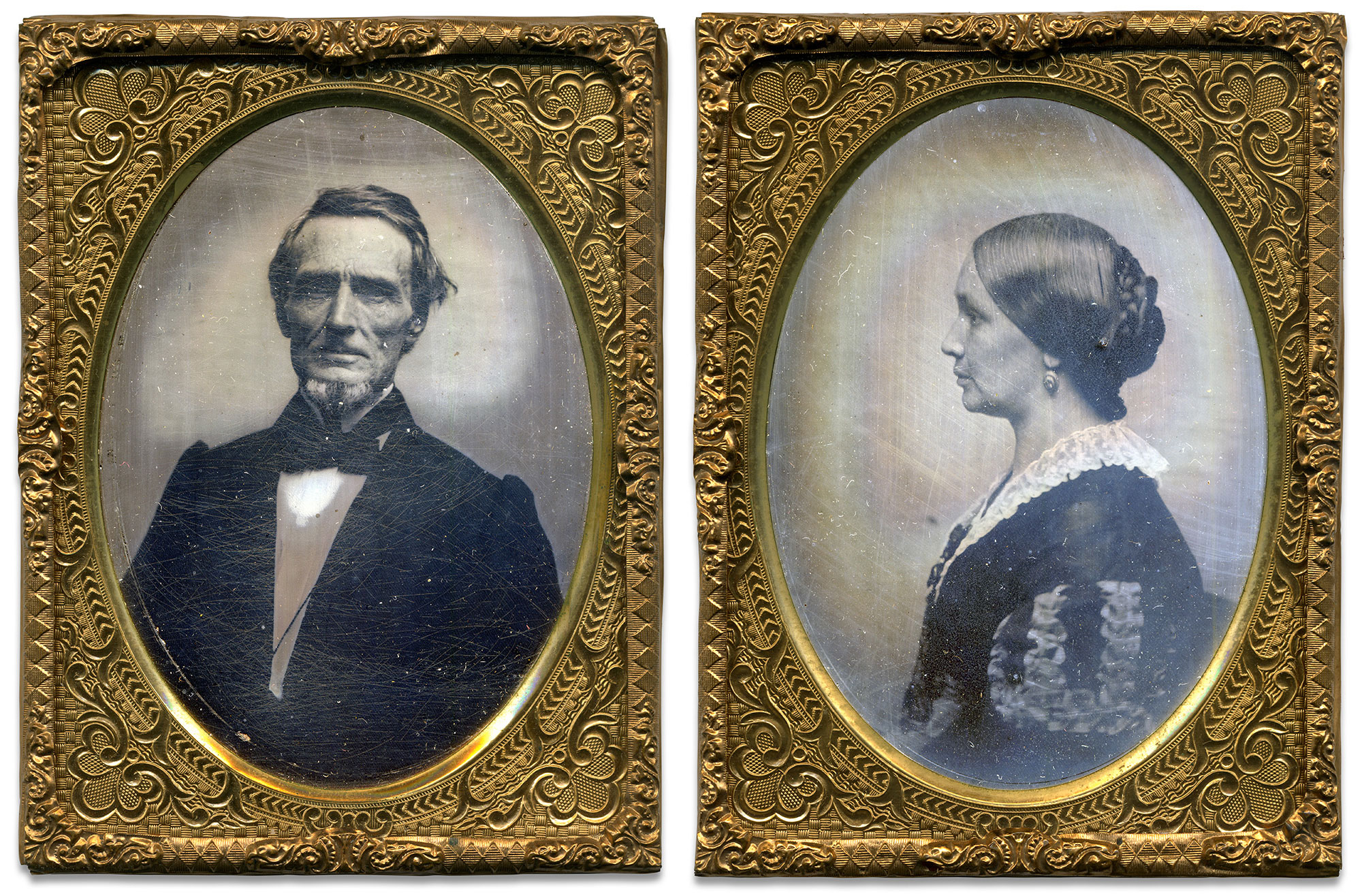 Quarter-plate tintypes attributed to Jesse H. Whitehurst of Washington, D.C. John O'Brien collection.
