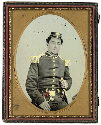 Jesse Sharpe Barnes first served in the South Carolina miltia, and returned home to fight for North Carolina after the state seceded from the Union. Liljenquist Family Collection, Library of Congress.