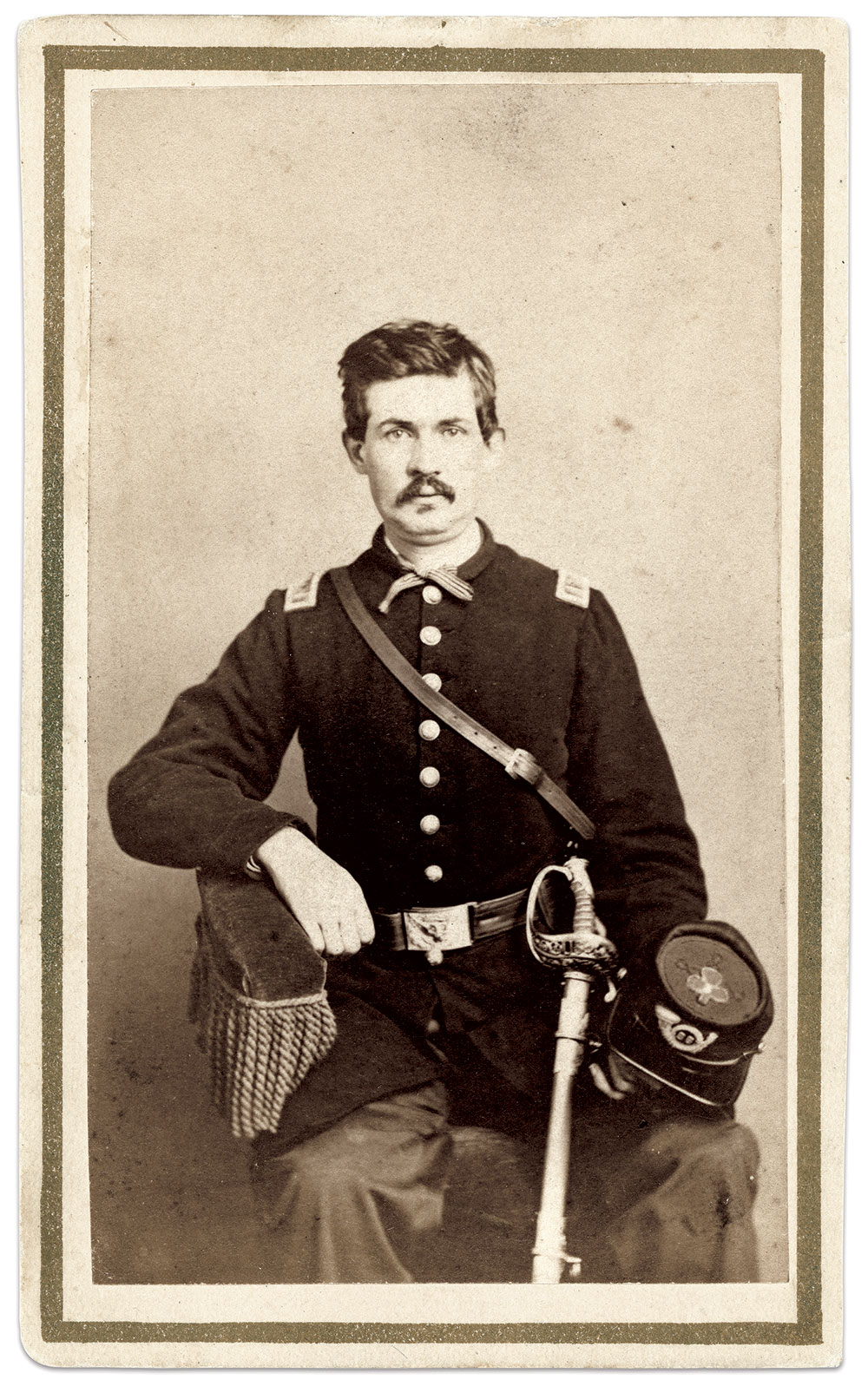 Carte de visite by R.A. Lord of New York City. Charles Joyce Collection.
