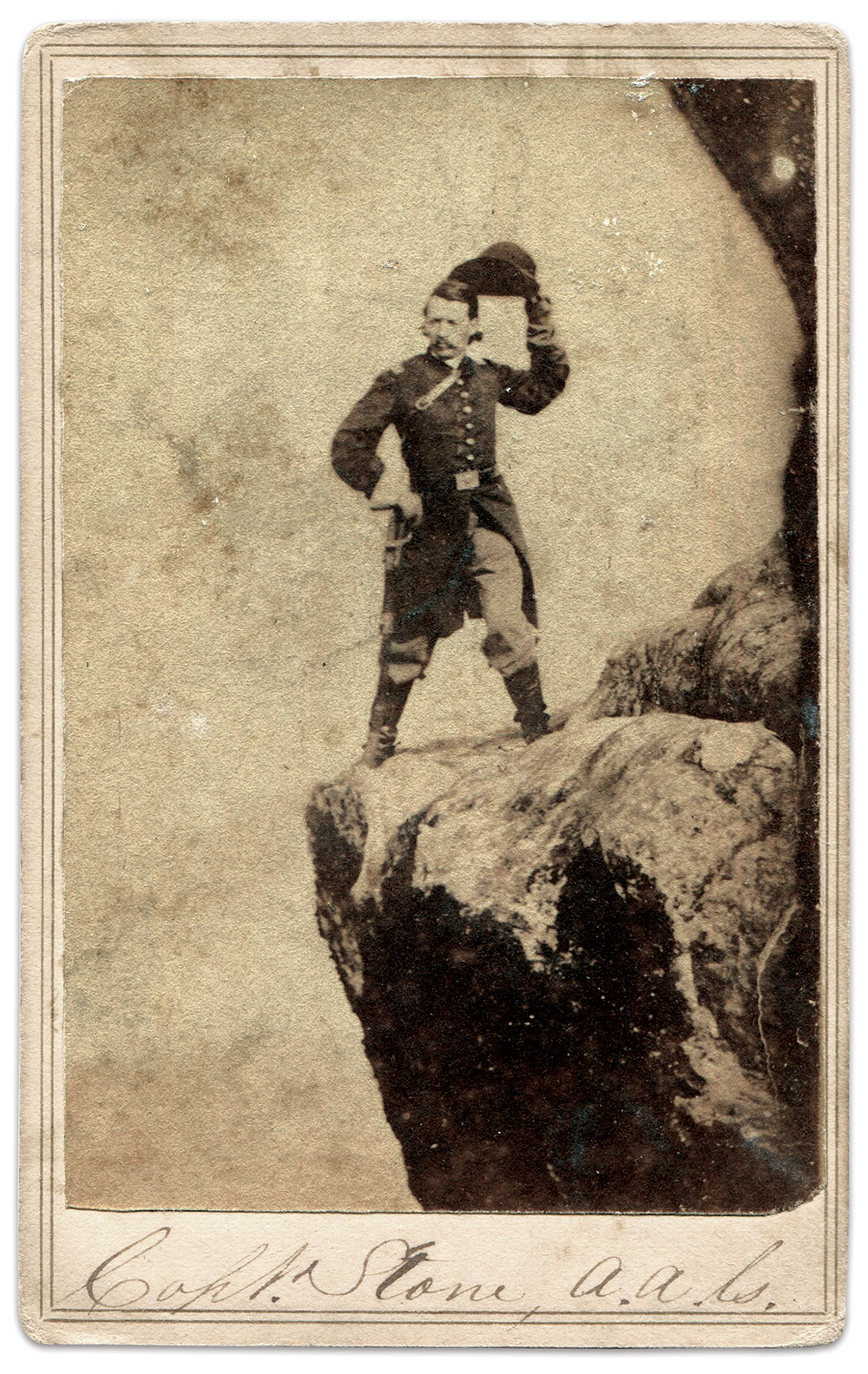 Carte de visite by Army of the Cumberland photographers Schwing & Rudd. Steven Karnes Collection.