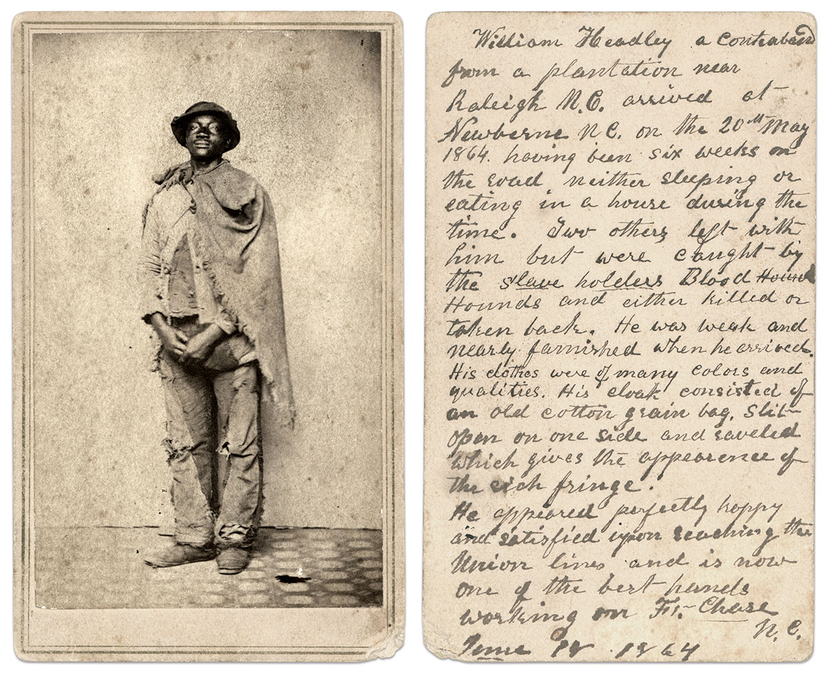 William Headley. Carte de visite by an anonymous photographer (possibly Stayner & Smith). Ross J. Kelbaugh Collection.