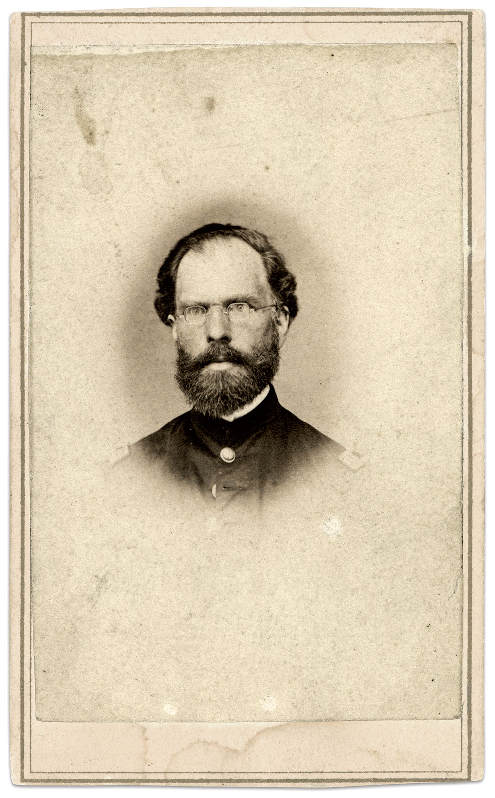 James. Carte de visite by Stayner & Smith of New Bern, N.C. Ross J. Kelbaugh Collection.