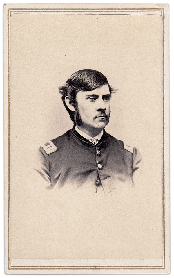 Frank Horatio Kempton. Carte de visite by George F. Farlow of New Bedford, Mass.