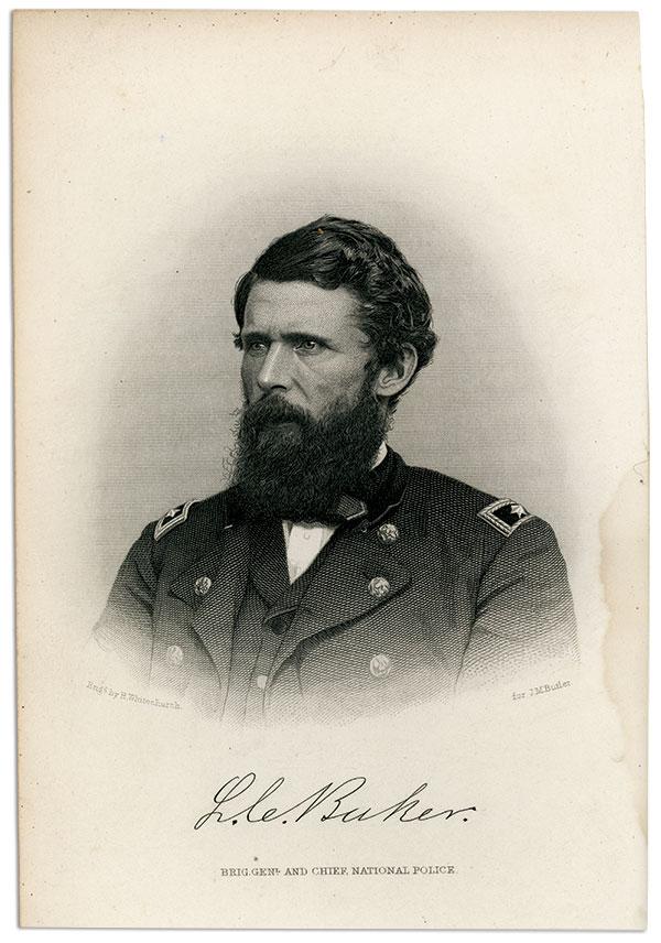 Lafayette C. Baker. Library of Congress.