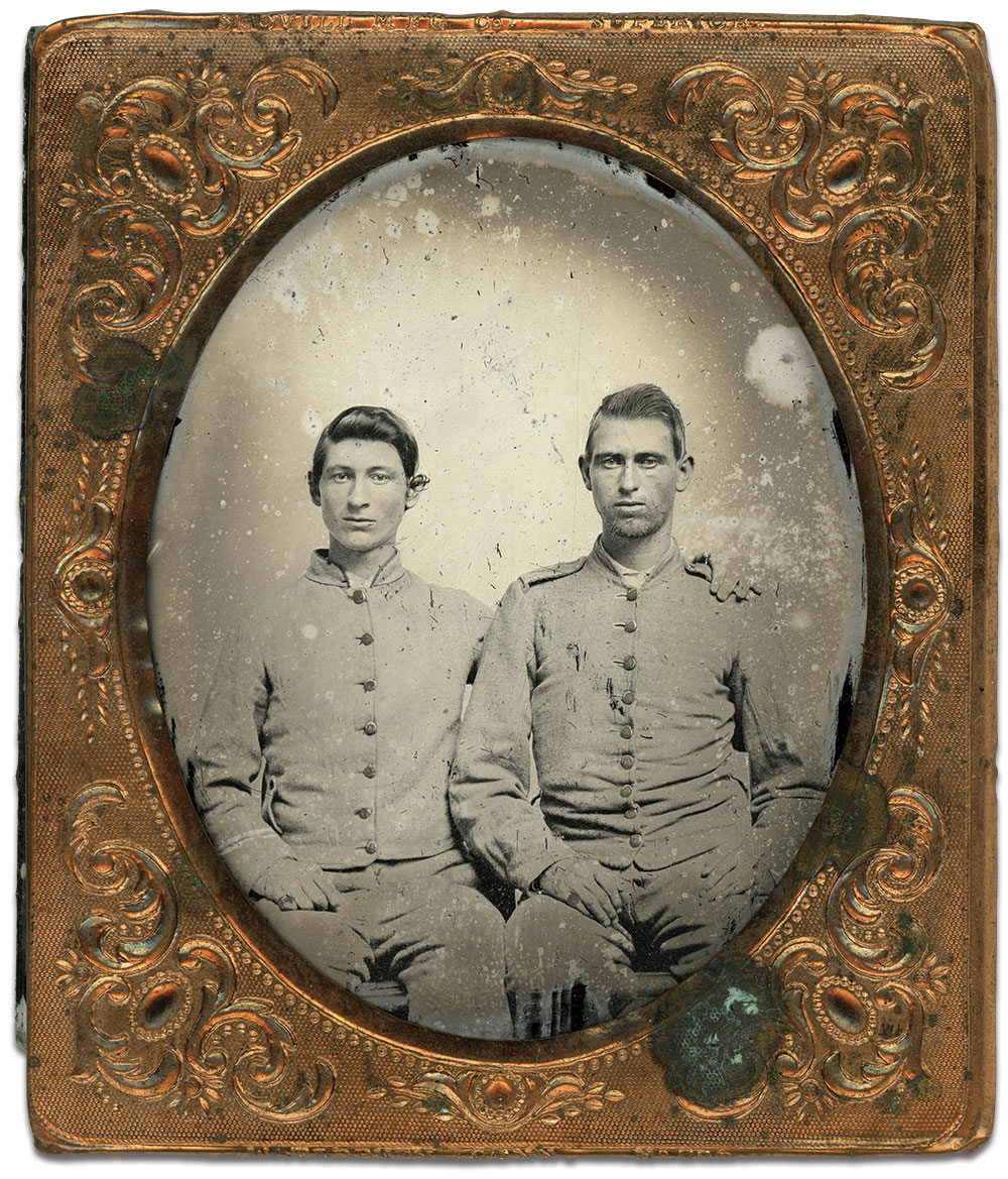 Sixth-plate ambrotype by an anonymous photographer. Charles Joyce collection.