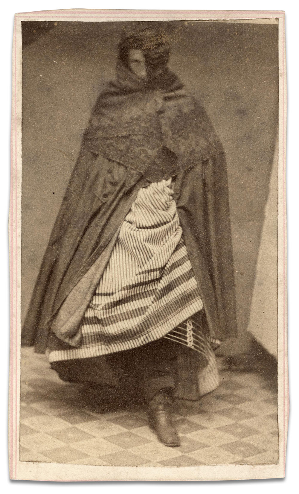 Carte de visite by Ad. Loewenthal of Williamsburgh, N.Y. Copyright 2015 by Gary Bart, all rights reserved.