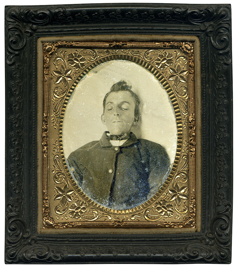 Sixth-plate tintype by an anonymous photographer. Rob Lyon collection.