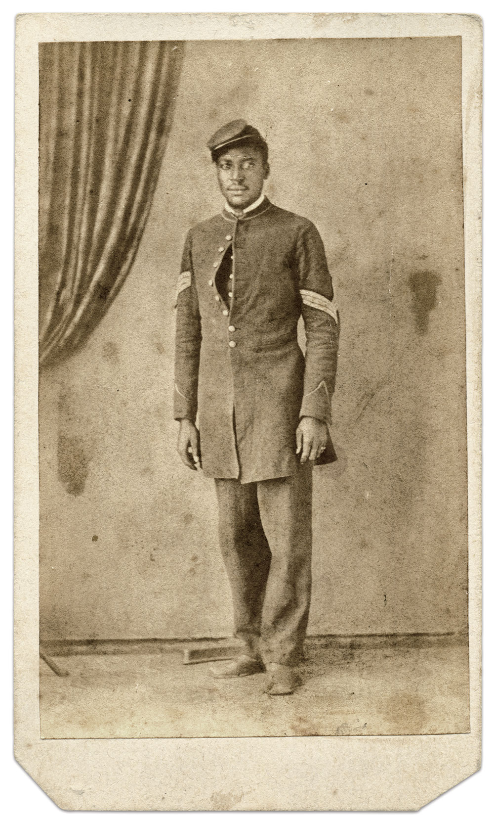 Carte de visite by A.L. Fellers of Lancaster, Ohio. David and Diana Lemaster Collection.