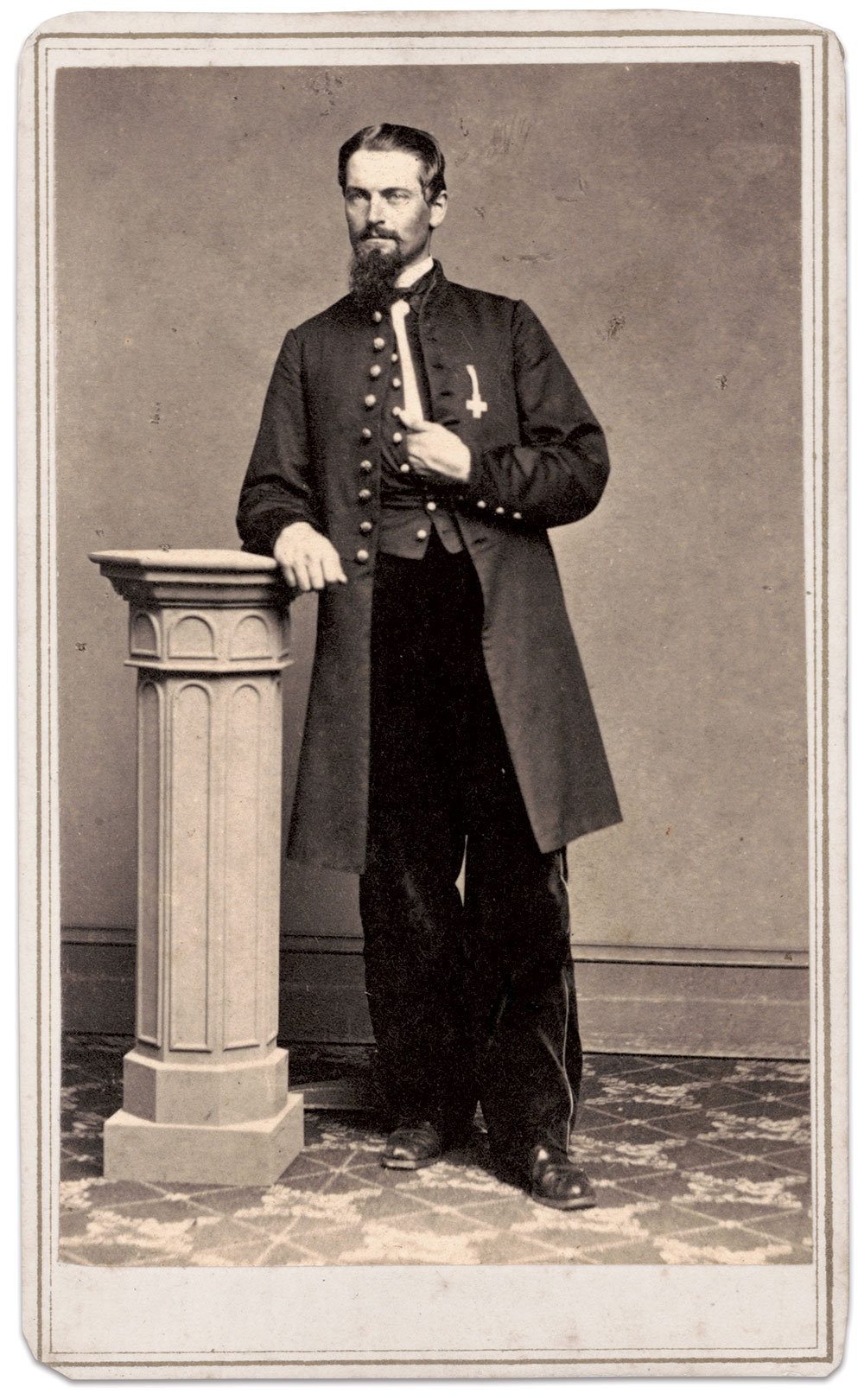 Carte de visite by Clark of New York City. The Liljenquist Family Collection at The Library of Congress.