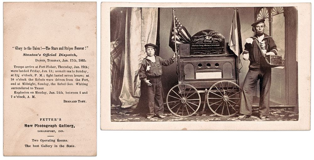 Carte de visite by Fetter of Logansport, Ind. The Liljenquist Family Collection, Library of Congress.