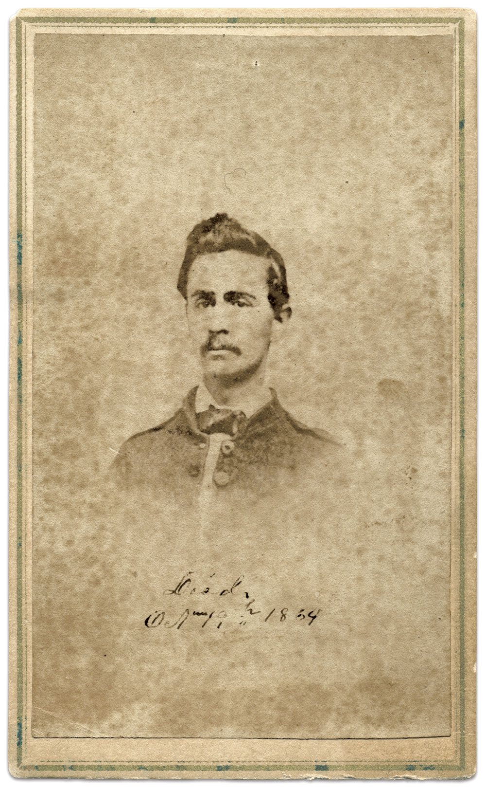 Carte de visite by A.B. Avery of Tuskegee, Ala. Ron Loveall Collection.