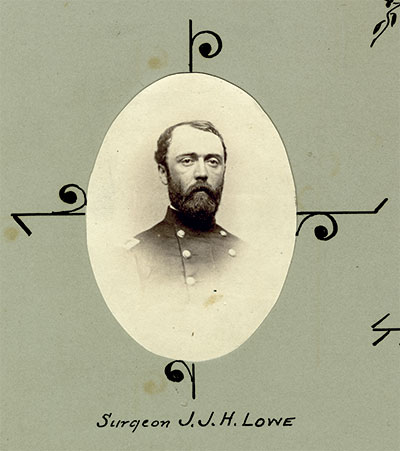 Surgeon John J.H. Love, 13th New Jersey Infantry. U.S. Army Heritage and Education Center (USAHEC)