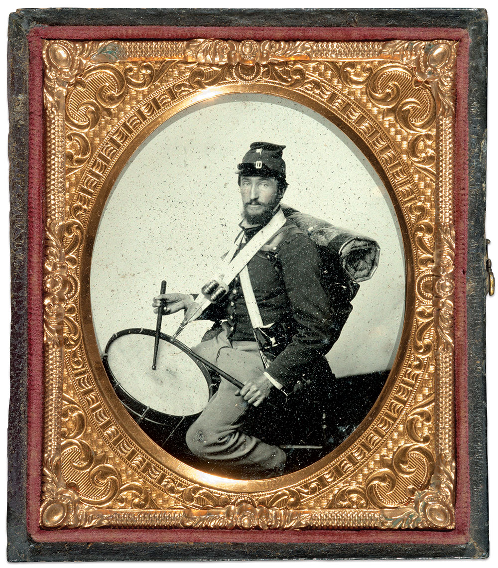 Sixth-plate ambrotype by an unidentified photographer. Indiana Historical Society.