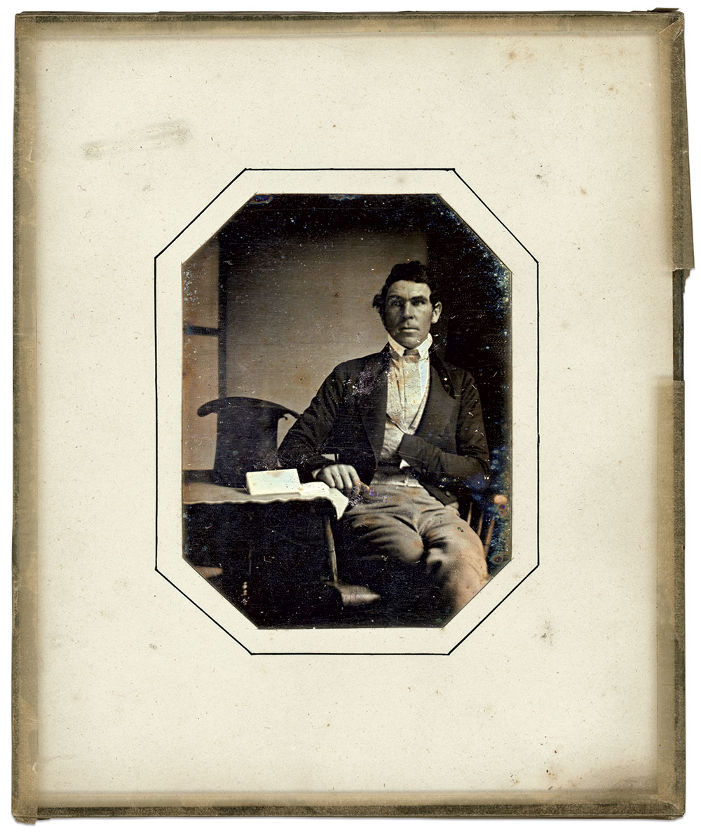 Daguerreotype of Ames, circa 1845.