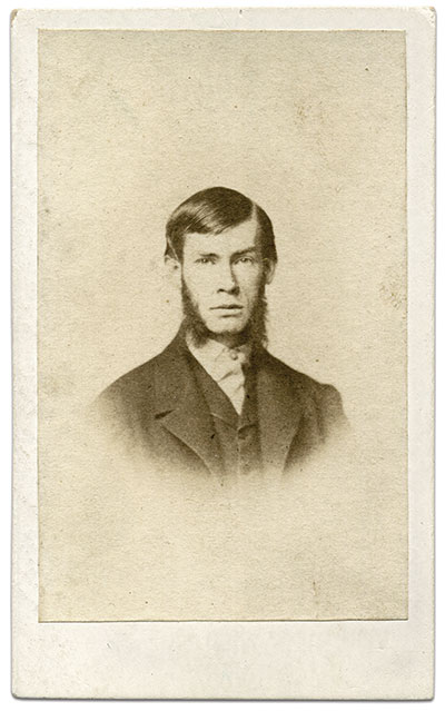 After the war, Howard returned to Baltimore to practice law. He participated in Confederate veteran activities and took a strong interest in promoting Maryland history and memory through civic organizations and societies. Carte de visite by an anonymous photographer.