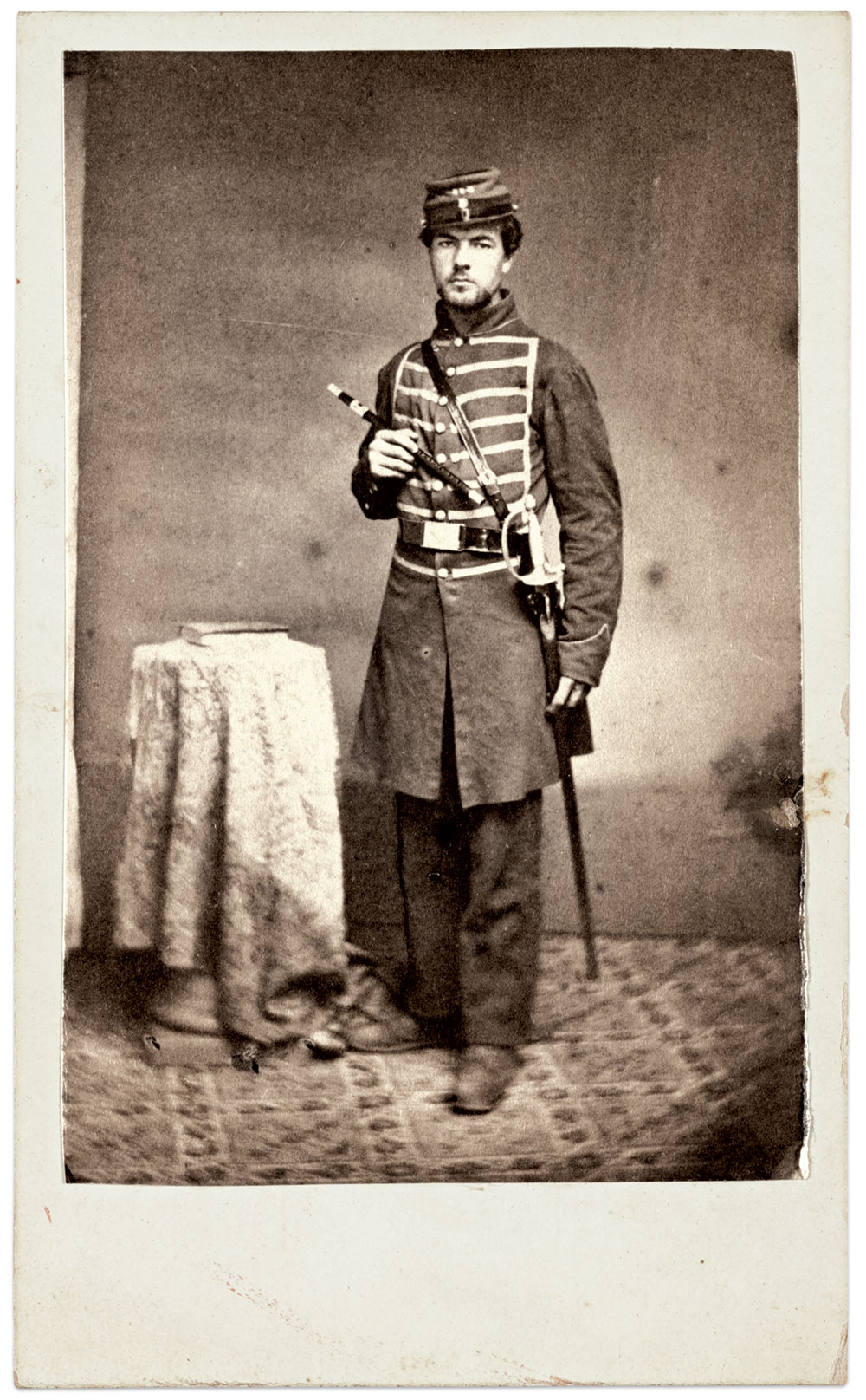 Carte de visite by D'Almaine of Baltimore, Md. The Liljenquist Family Collection at the Library of Congress.